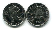 25 центов 2009 год (конькобежец) Канада
