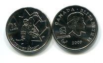 25 центов 2009 год (паролимпиада хоккей) Канада