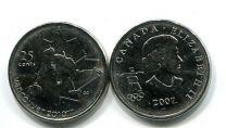 25 центов 2007 год (кёрлинг) Канада