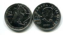 25 центов 2007 год (хоккей) Канада