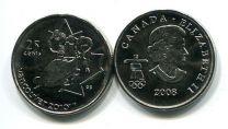 25 центов 2008 год (сани) Канада