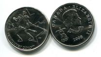 25 центов 2008 год (фигурное катание) Канада