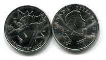 25 центов 2007 год (прыжки) Канада