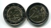 2 евро 2010 год (председательство) Бельгия