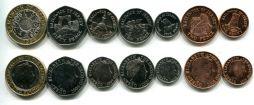 Набор монет Джерси