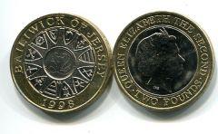 2 фунта 1998 год Джерси