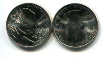 25 центов (квотер) 2010 год D (Йосемитский парк) США