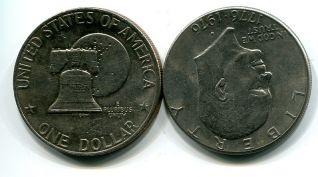 1 доллар США (колокол)