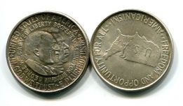 1/2 доллара 1952 год серебро (Букер Т.Вашингтон и Джордж Карвер) США