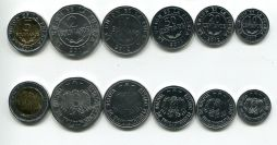 Набор монет Боливии 2017 год
