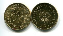 2 злотых 2004 год (Opolskie) Польша
