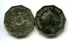 1 доллар 2003 год Белиз