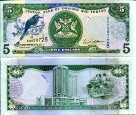 5 долларов 2006 год Тринидад и Тобаго