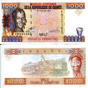 1000 франков 1998 год Гвинея