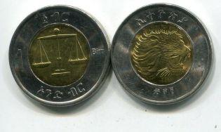1 бирр 2010 год Эфиопия