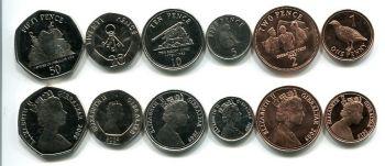 Набор монет Гибралтара