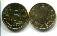 50 евроцентов 2010 год Ватикан
