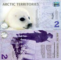 2 доллара 2010 год Арктические территории
