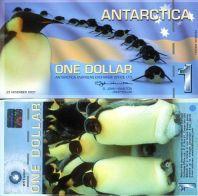 1 доллар 2011 год Антарктика