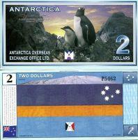 2 доллара Антарктика