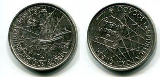 100 эскудо 1989 год Португалия