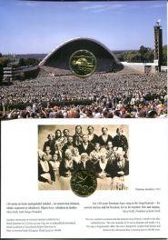 1 крона 1999 год (130 лет Эстонскому Песенному Фестивалю) Эстония