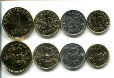 Набор монет Эстонии
