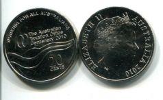 20 центов 2010 год Австралия