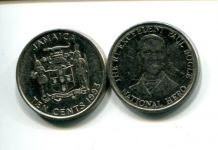 10 центов 1993 год Ямайка