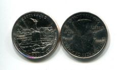 25 центов 2011 год D (парк Геттисбург) США