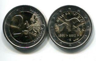 2 евро 2011 год Италия