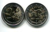 2 евро 2011 год Италия 150 лет объединения