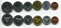 Набор монет Никарагуа