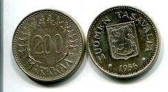 200 марок 1956, 1957 год Финляндия