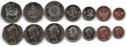 Набор монет Соломоновых островов 7 монет