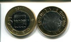5 евро (Уусимаа, 2011 г.) Финляндия