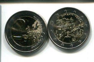 2 евро 2011 год Франция