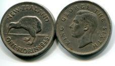 1 флорин (Георг IV) Новая Зеландия