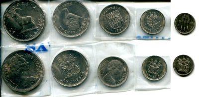 Набор монет Родезии