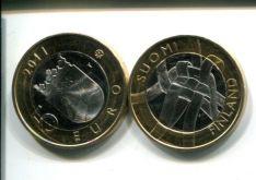 5 евро (Карелия, 2011 г.) Финляндия