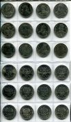 Набор монет Польши из 12 штук (короли)