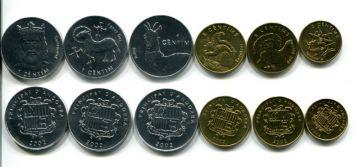 Набор монет Андорры 2002 год