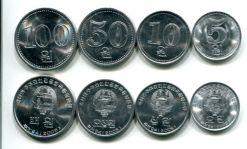 Набор монет Северной Кореи