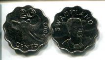 20 центов 2003 год Свазиленд