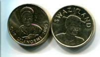 1 лилангени 2005 год Свазиленд
