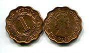 1 цент Британский Гондурас