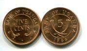 5 центов Уганда