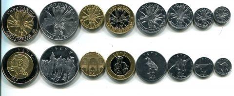 Набор монет Кабо Дахла 2006 год (полный набор)