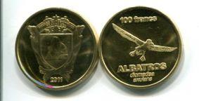 100 франков 2011 год Французские Южные и Антарктические территории