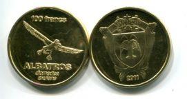 100 франков 2011 год Остров Сен-Поль
